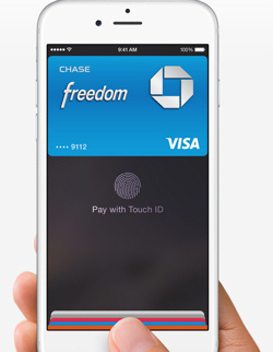 Technologie Apple Pay.